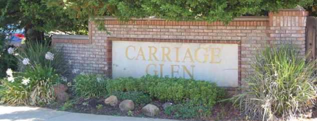 Carriage Glen Subdivision Sign