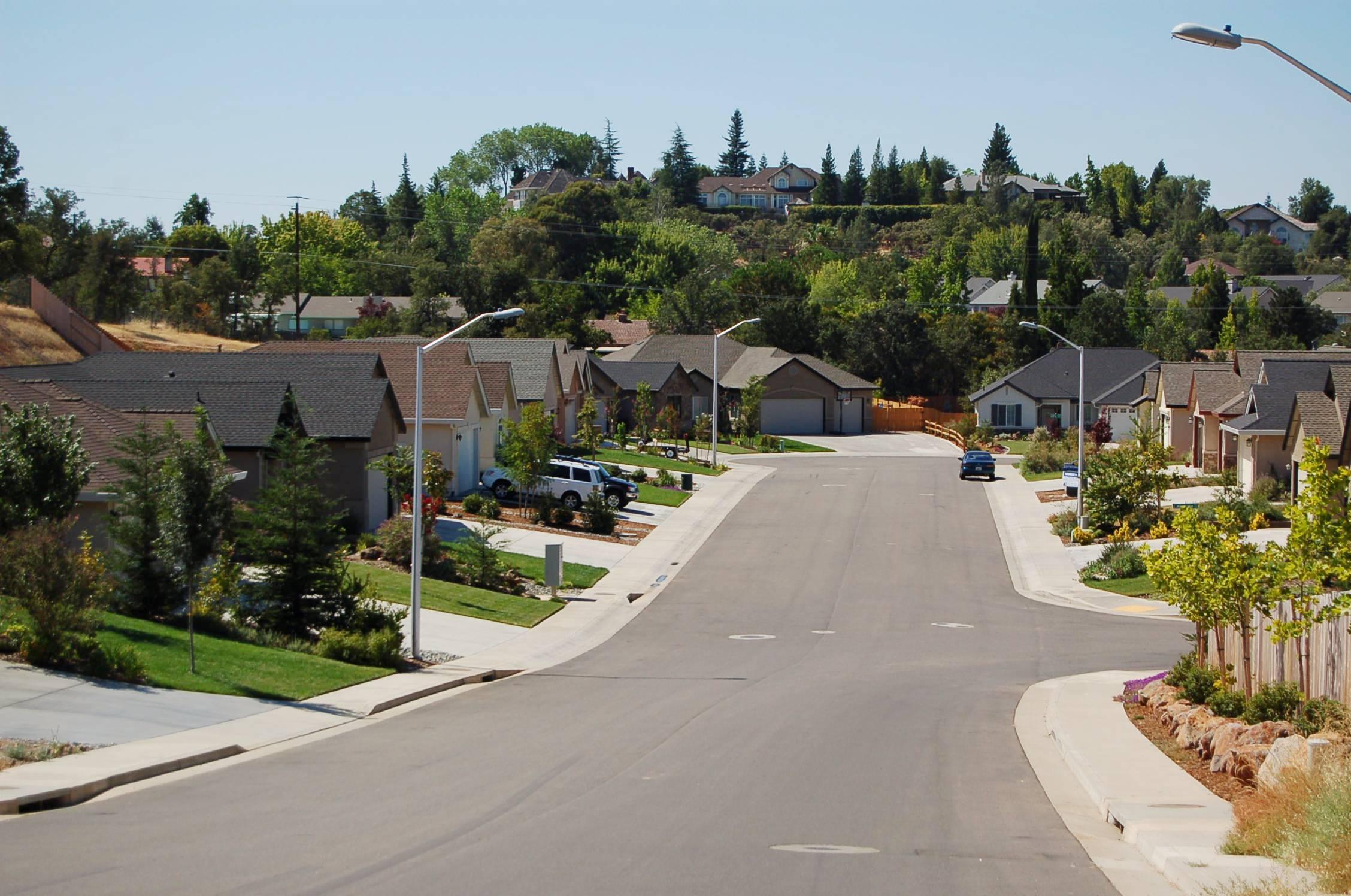 Lakeside Subdivision Streetview