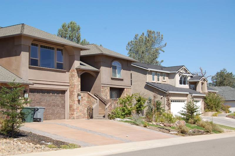 Placer Pines Subdivision Homes