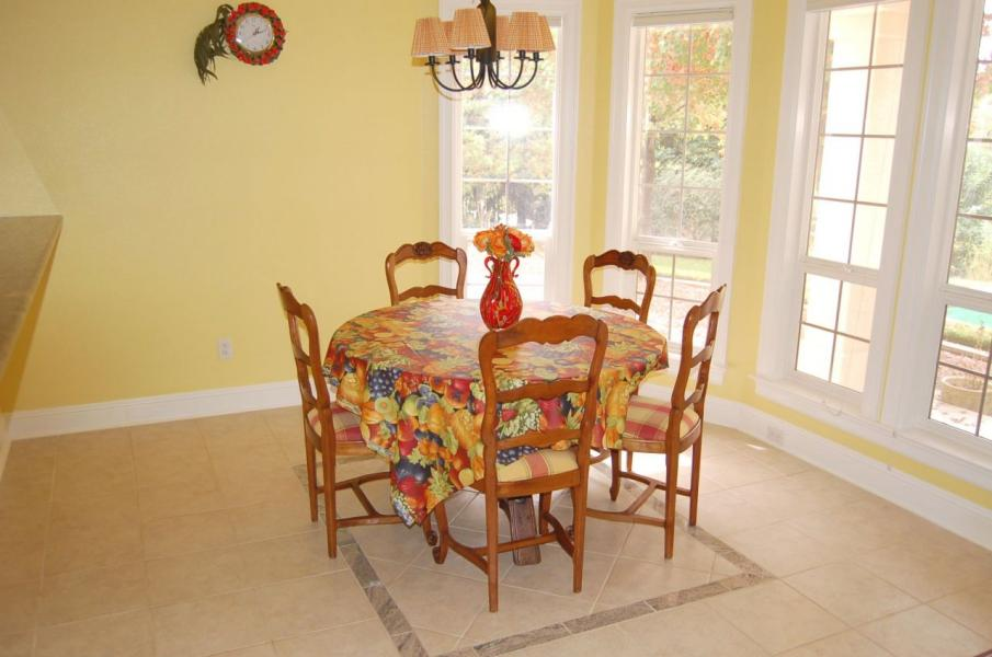 Dining Area photo of home on Tierra Heights