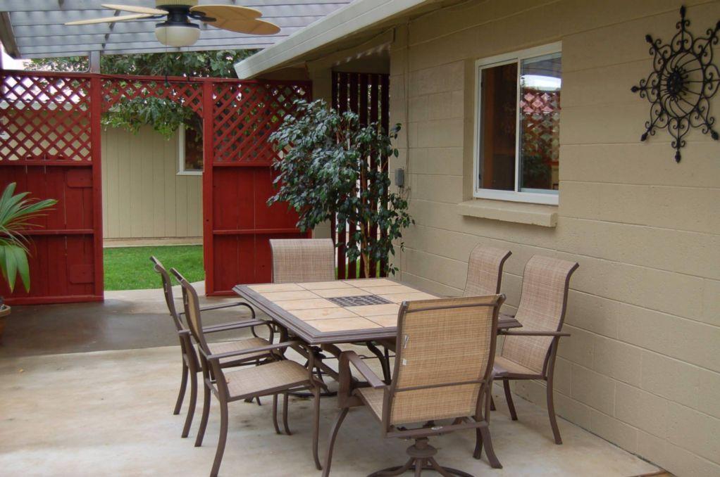 Red Bluff Homes E. Wallen Patio