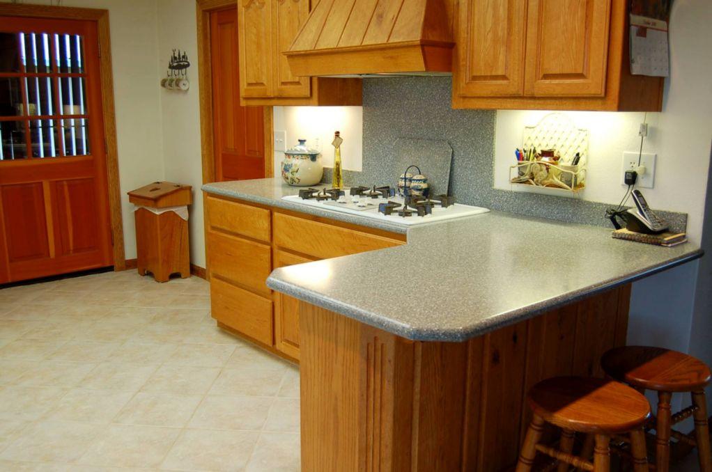 Red Bluff Homes E. Wallen Kitchen area