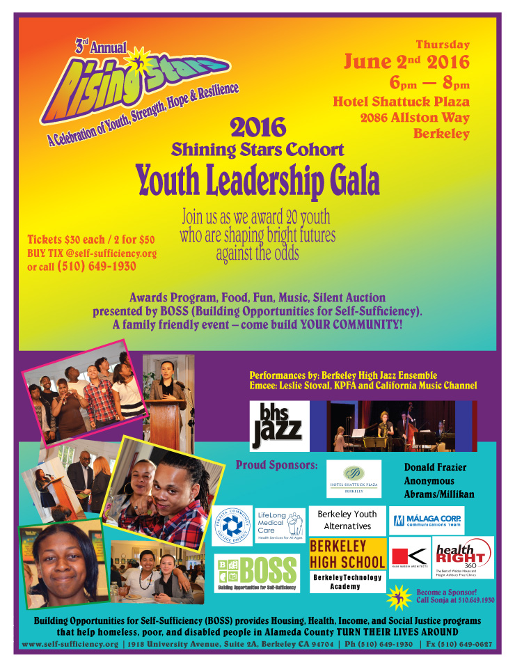BOSS 3rd Annual Rising Stars Youth Leadership Gala