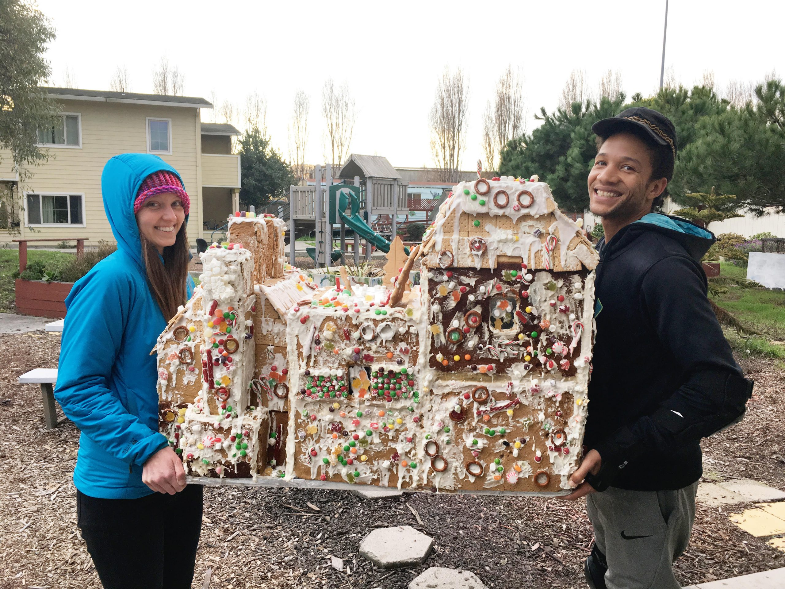 Habitot Donates Gingerbread House to BOSS Kids