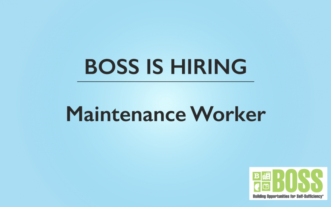 Hiring Maintenance Worker