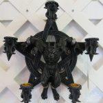 Pentacle Werewolf Well Art