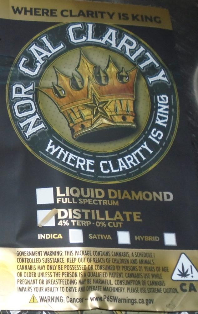 Nor Cal Clarity Atomizer Redding 420