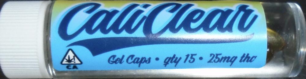 Cali Clear THC Gel Caps